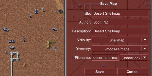 Ingame map editor