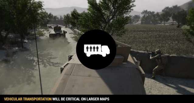 Squad Humvee transport