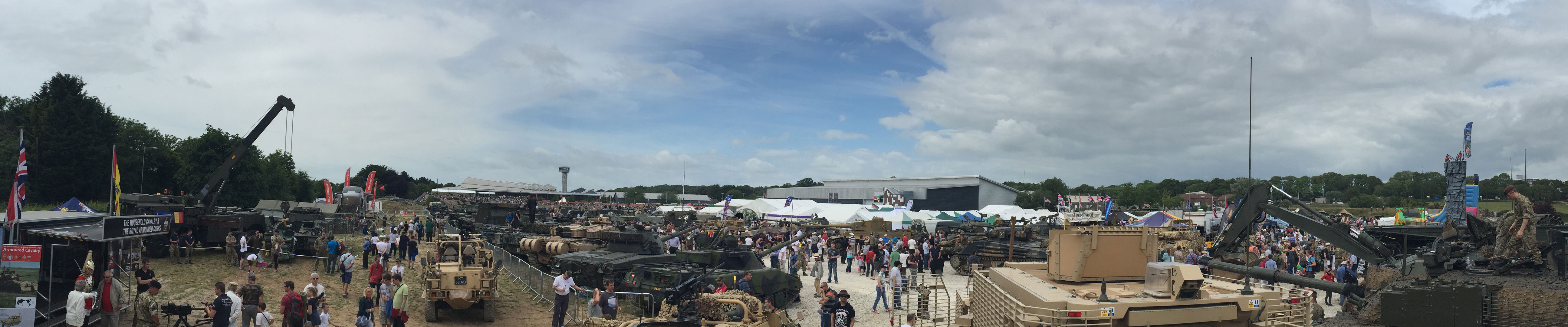 The Tank Museum Show Ground at Bovington, Dorset, UK