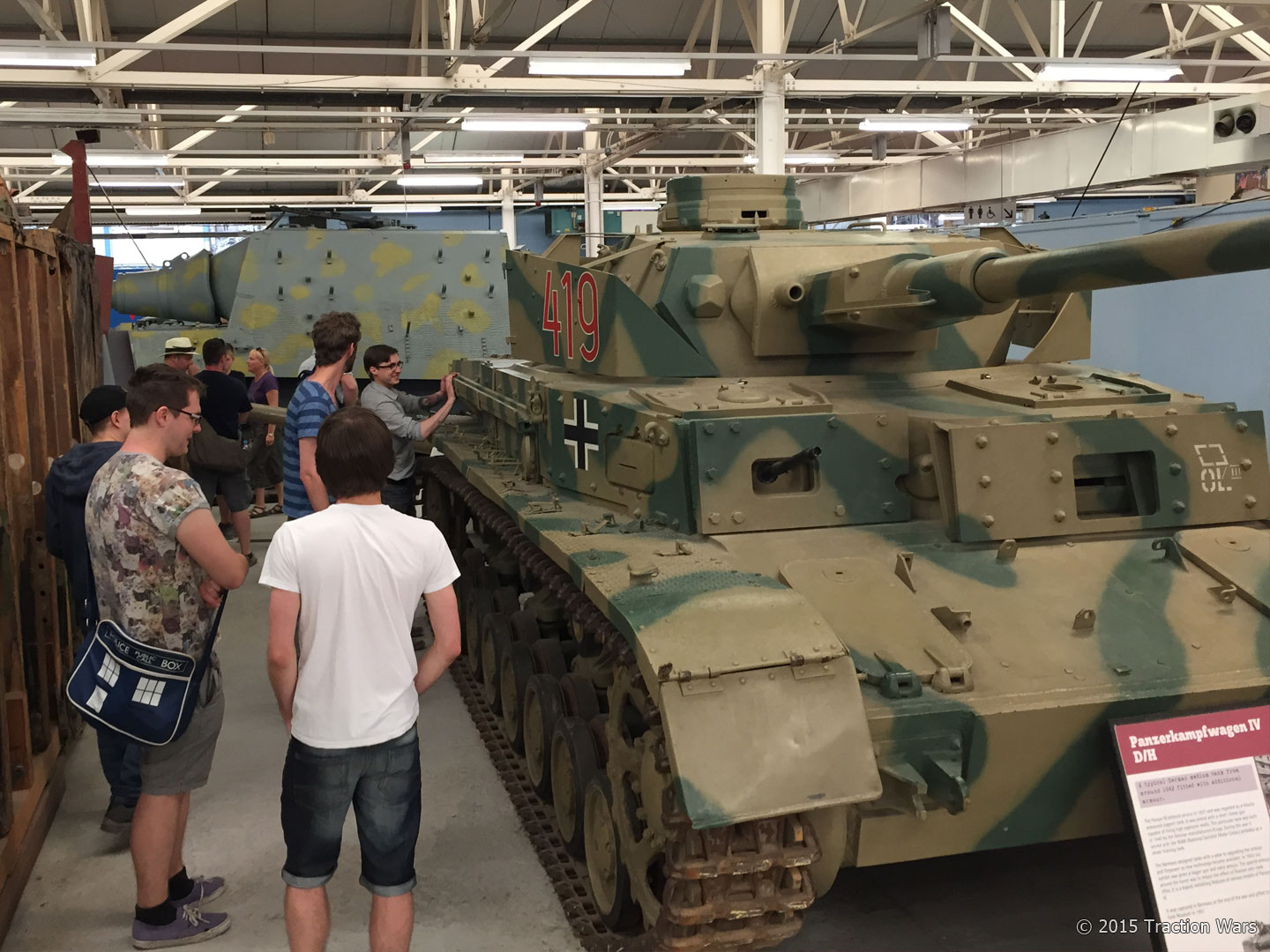 Taking a closer inspection of the Panzer IV.