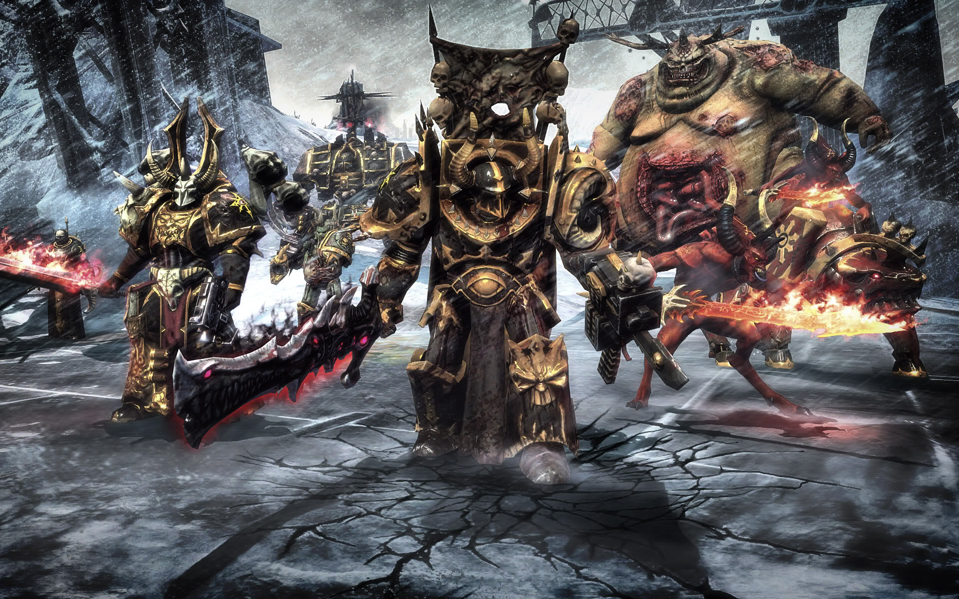 Chaos space marines news article for fans warhammer 40k tyranids group mod db - Chaos wallpaper ...