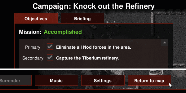Return to map