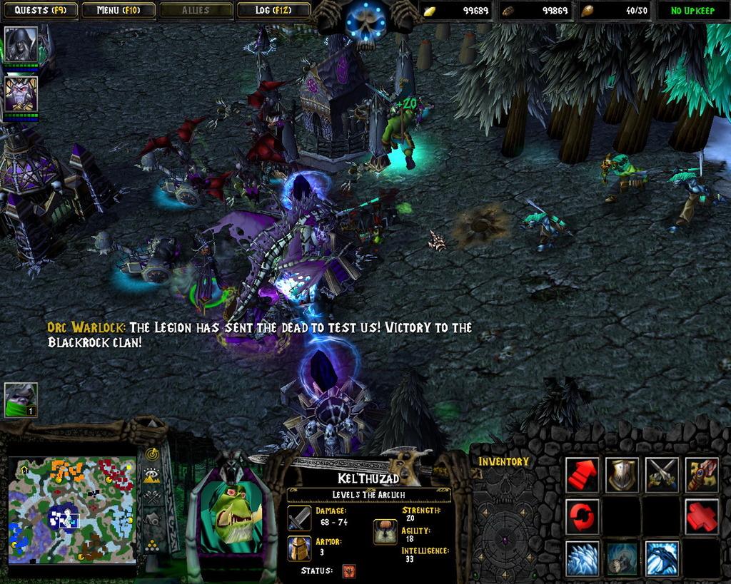 Warcraft 3 frozen throne lite rus скачать