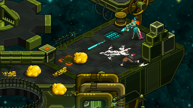 A screenshot of the original perspective of Legacy of the Copper Skies.