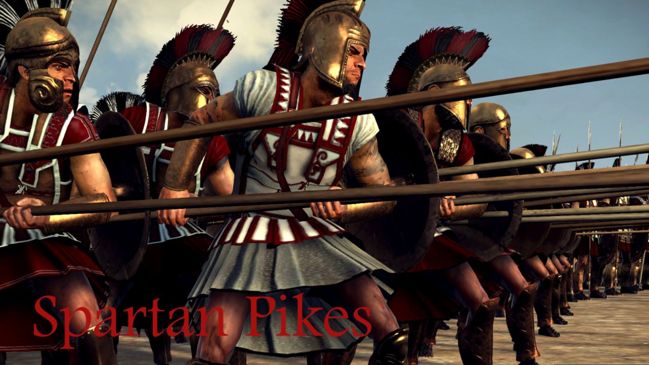 """Elite Auto Credit >> Lord Buio""""Sparta Anthology Reskin"""" news - Rome 2 Update Mod for Total War: Rome II - Mod DB"""