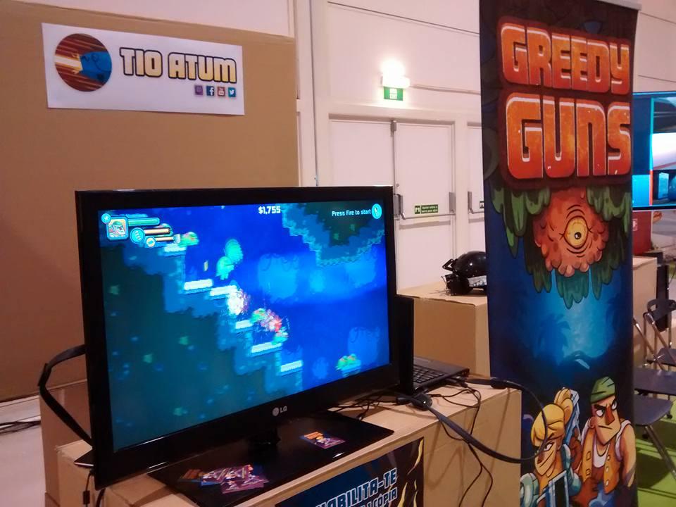 Greedy Guns at Lisbon Games Week