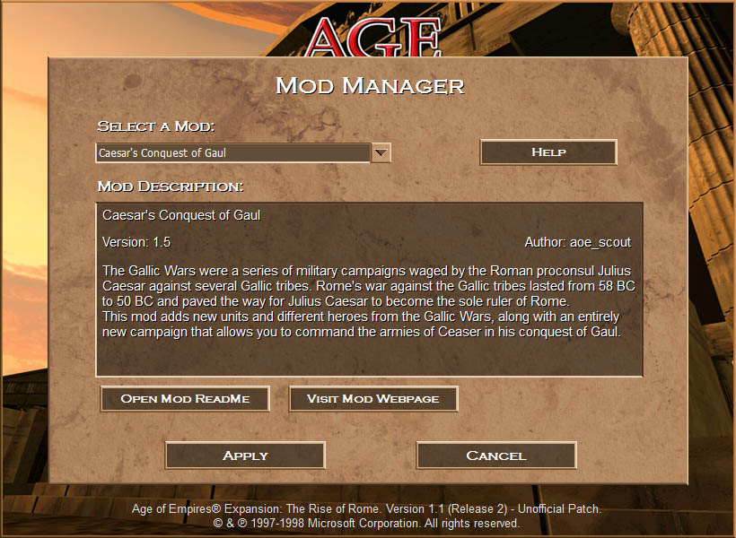 The Mod Manager