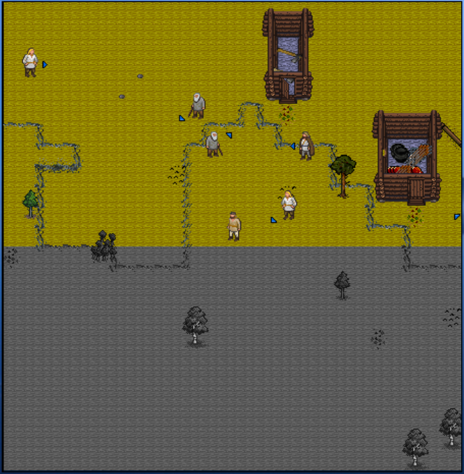 UnReal World - preview of redrawn NPCs