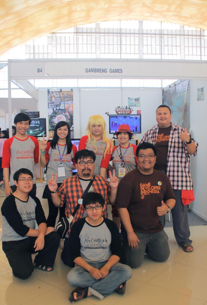 GameChanger Team Gankz (Soundman took the photo)
