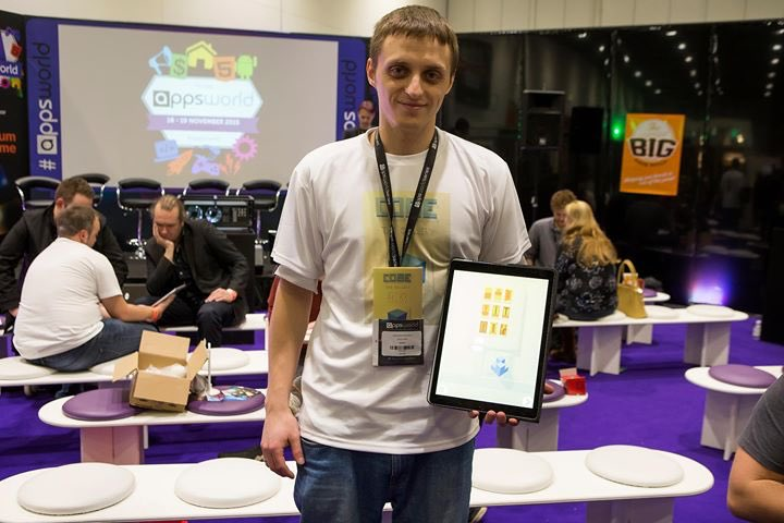 Cobe The Gallery 2nd place on Big Indie Pitch
