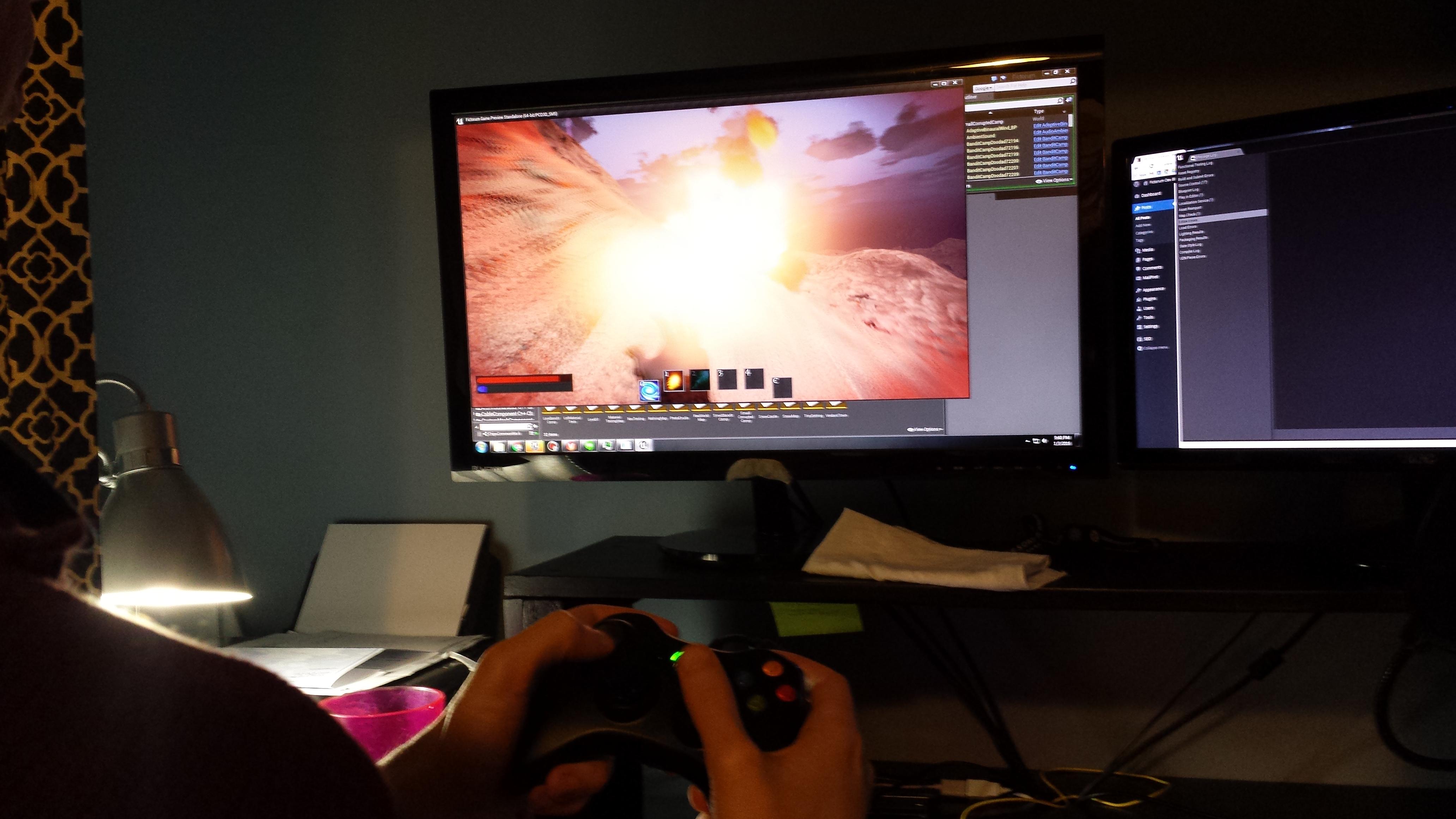 Fictorum Gamepad support