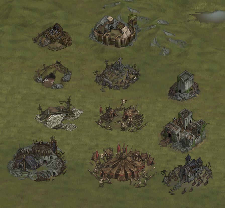 reworked worldmap locations 2