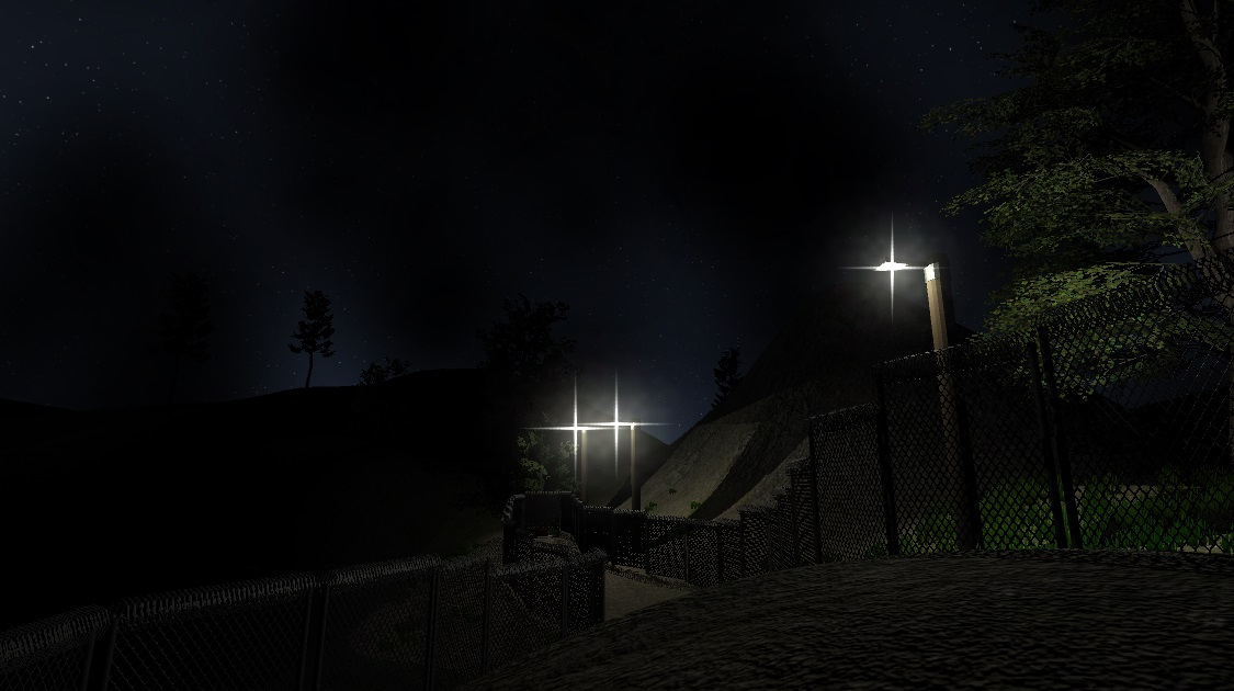 The forest_demo scene in SCP-847: The Mannequin.