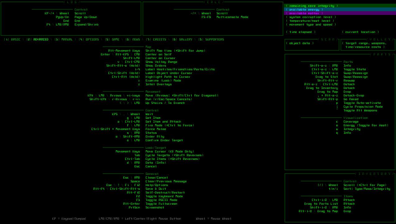 cogmind_ui_advanced_commands