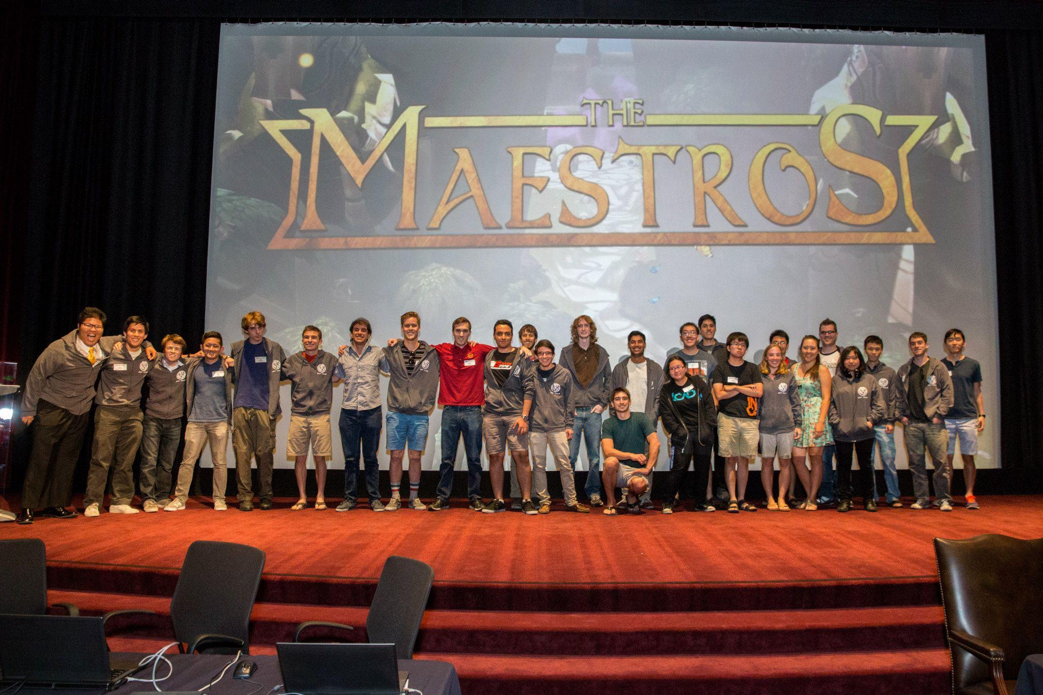 The Maestros Team Picture