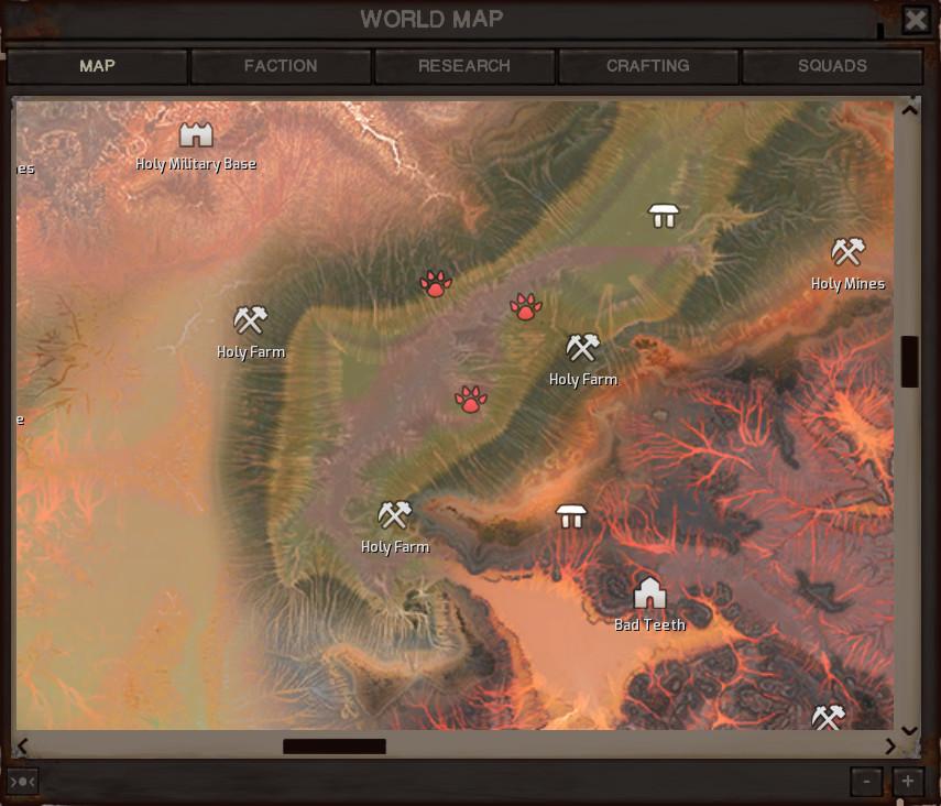 Dev Log: Map UI news - Kenshi - Mod DB