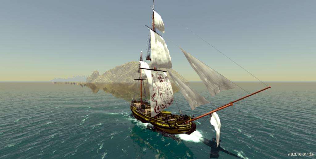 Tides of War - Ship wake effect