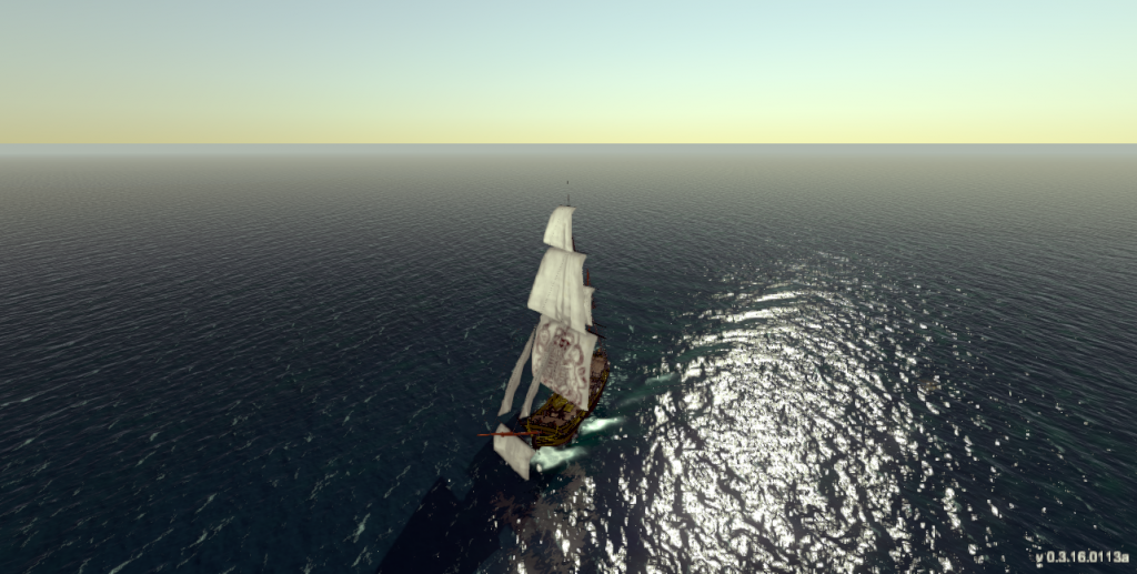 Tides of War - New Ship Wake Effect