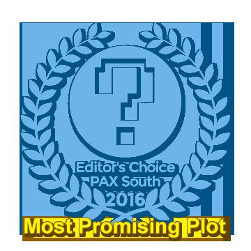 PAX Award Most Promising Plot Karaski: What Goes Up