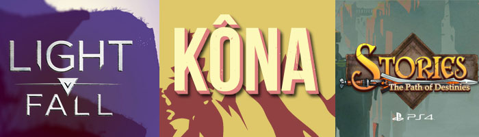 Light Fall, Kona and Stories