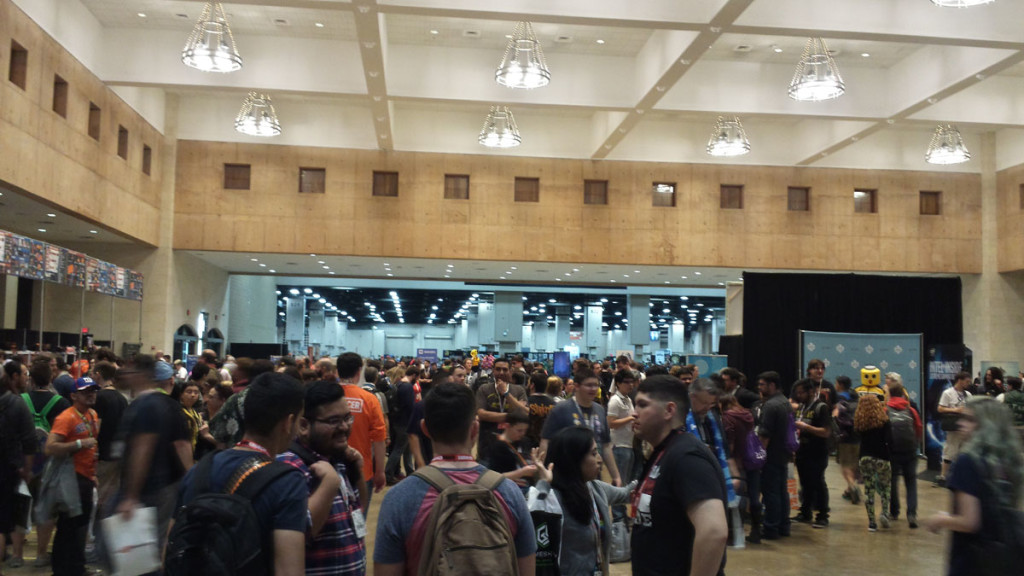 PAX South 2016 OMG the crowds