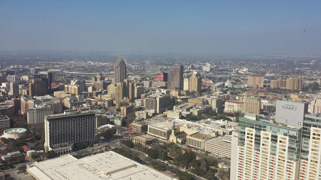 San Antonio Bird Eye View
