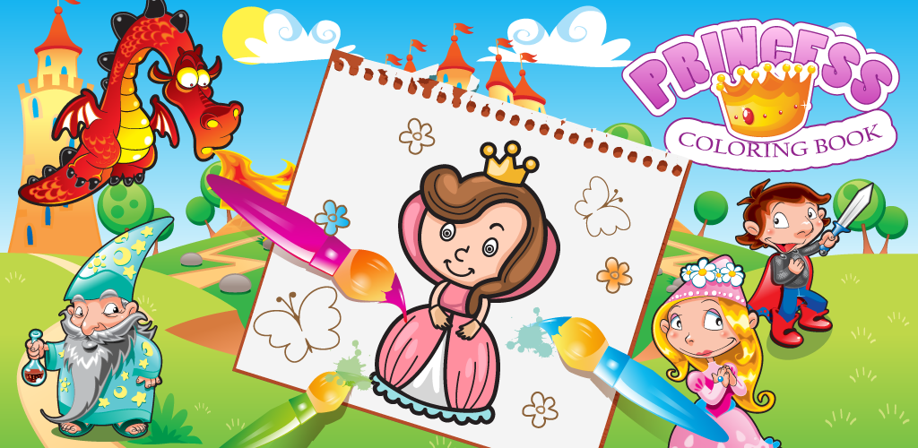 Princess Coloring Book games for girls news - Mod DB