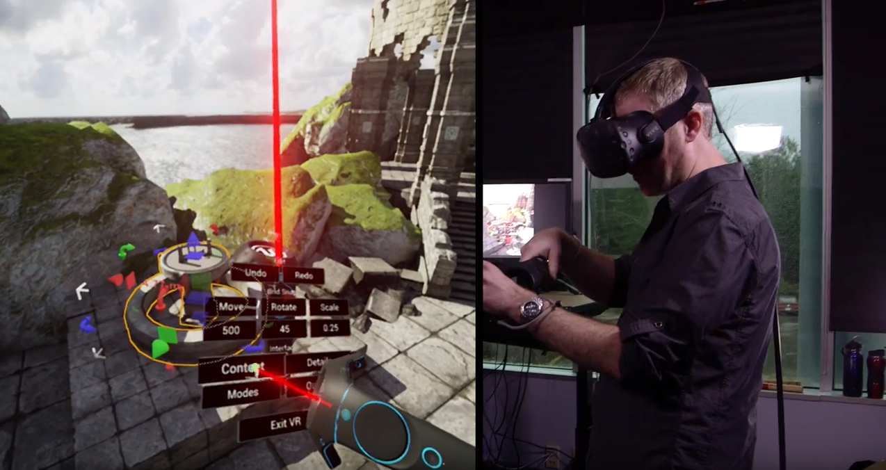 Oculus Rift Games >> Watch The Unreal Engine 4 VR Editor In Action news - Mod DB
