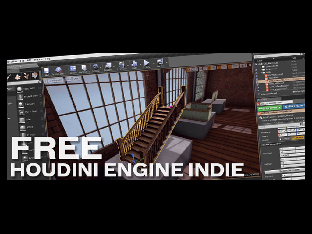 Houdini Engine Indie is now free news - Mod DB