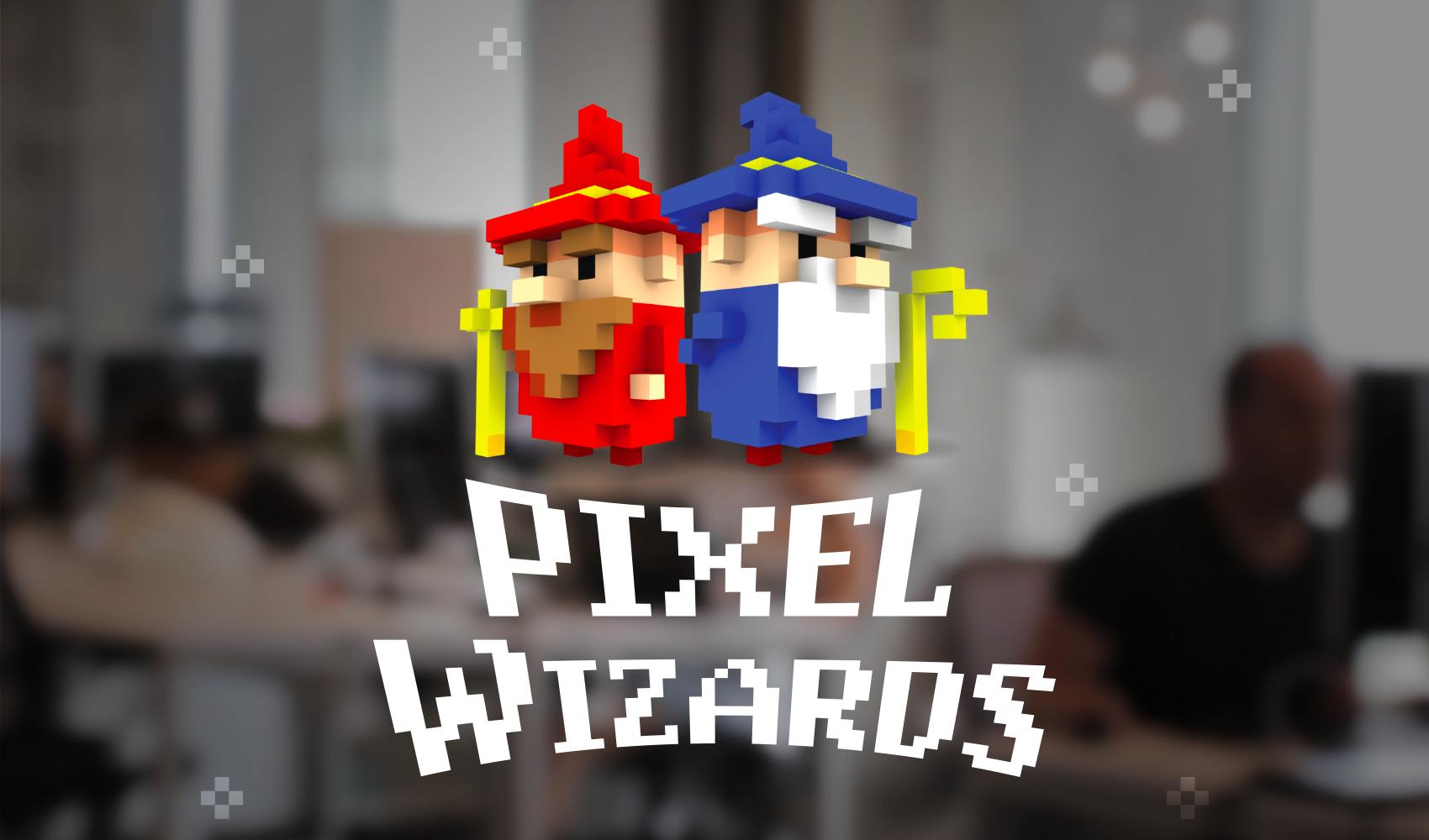 Pixel Wizards Logo