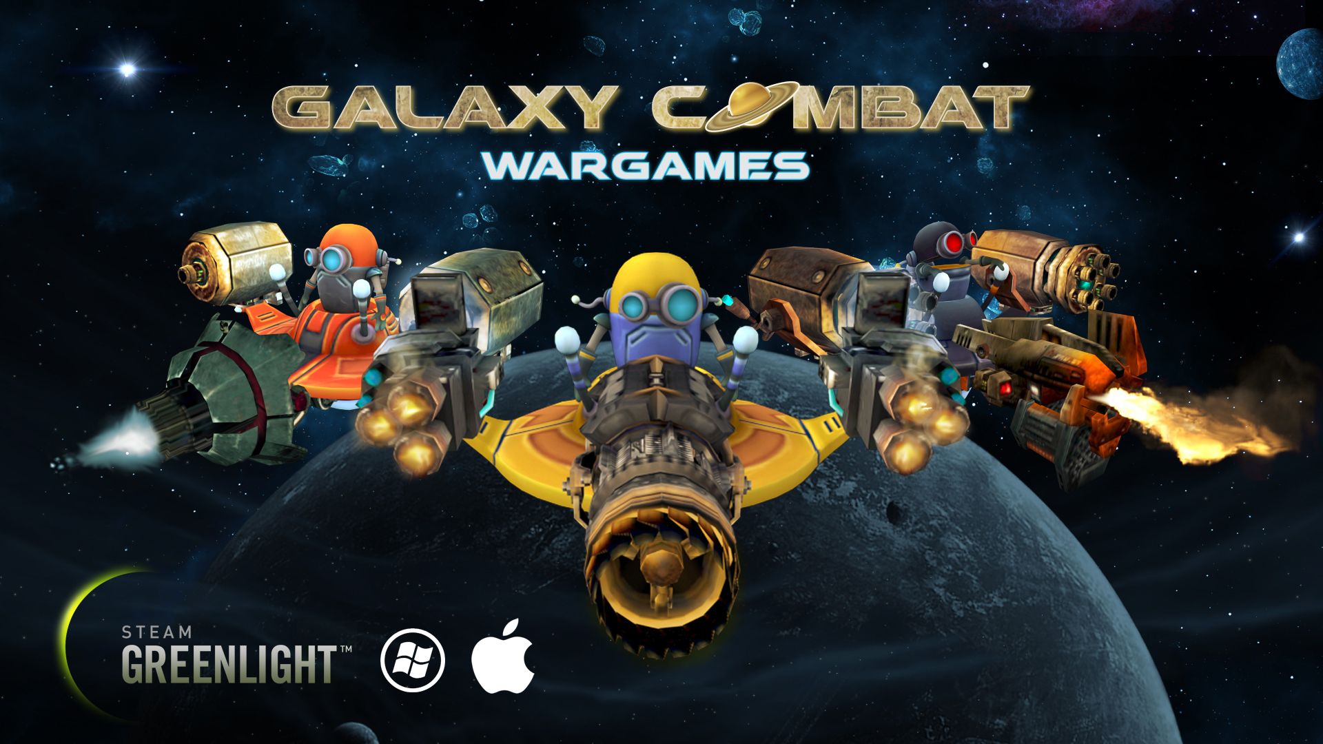 We are on Steam Greenlight! news - Galaxy Combat Wargames