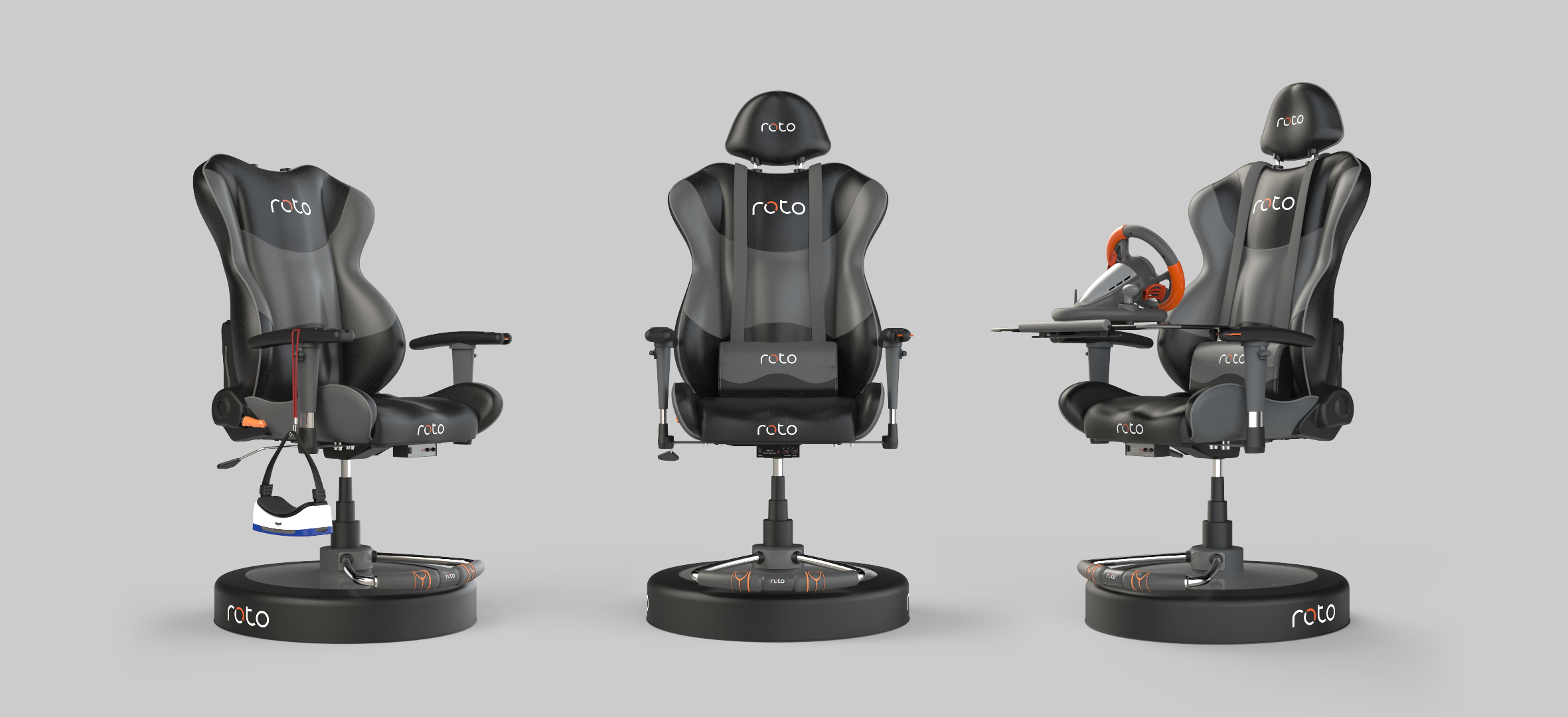 roto vr is a $500 motorised swivel chair for vr gaming news - mod db