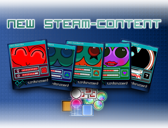 BoX -containment- Steam Trading-Cards, Badges and more! news