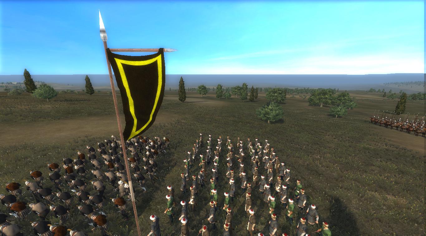 Battle Banner of the infantry