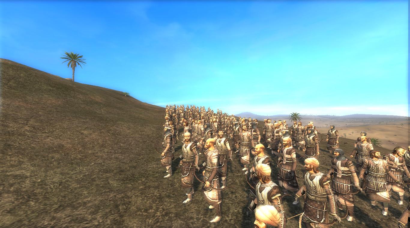 Showing the Rumat Archers
