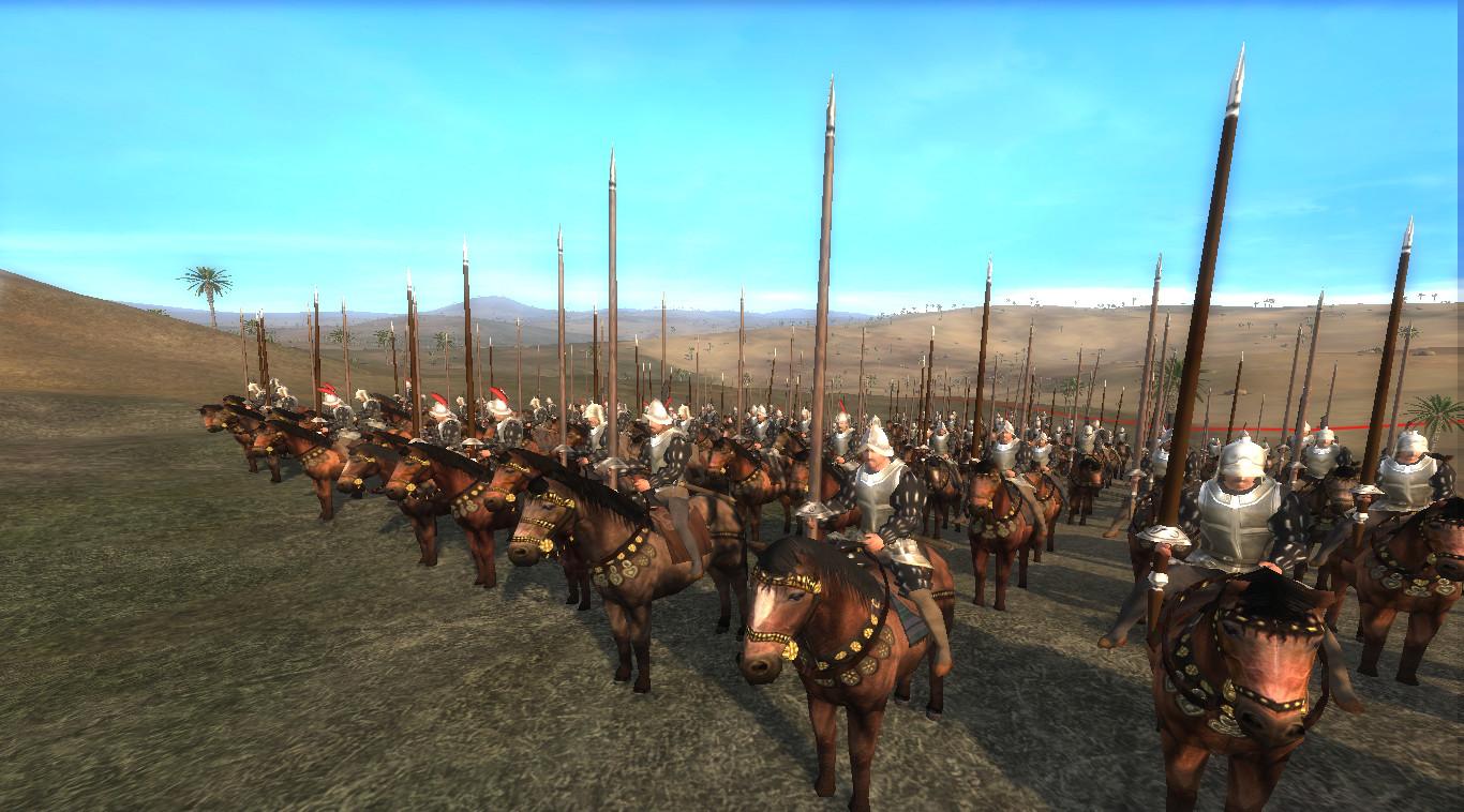 Showing the Christian Mercenary Cavalry
