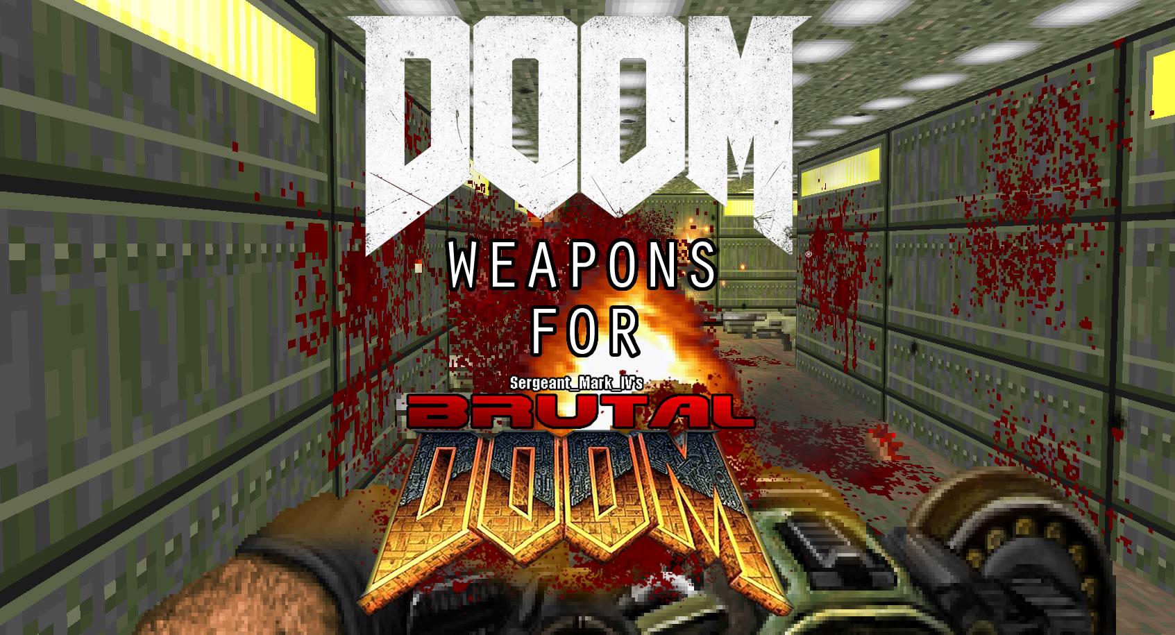 Doom 2016 weapons addon for Brutal Doom is out news - Mod DB