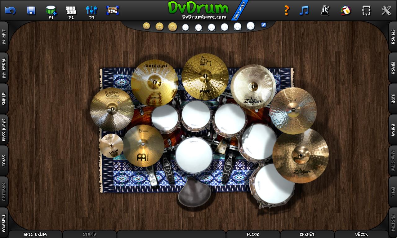 DvDrum 3 6 0 Released! The Sandbox Drum Simulator! news