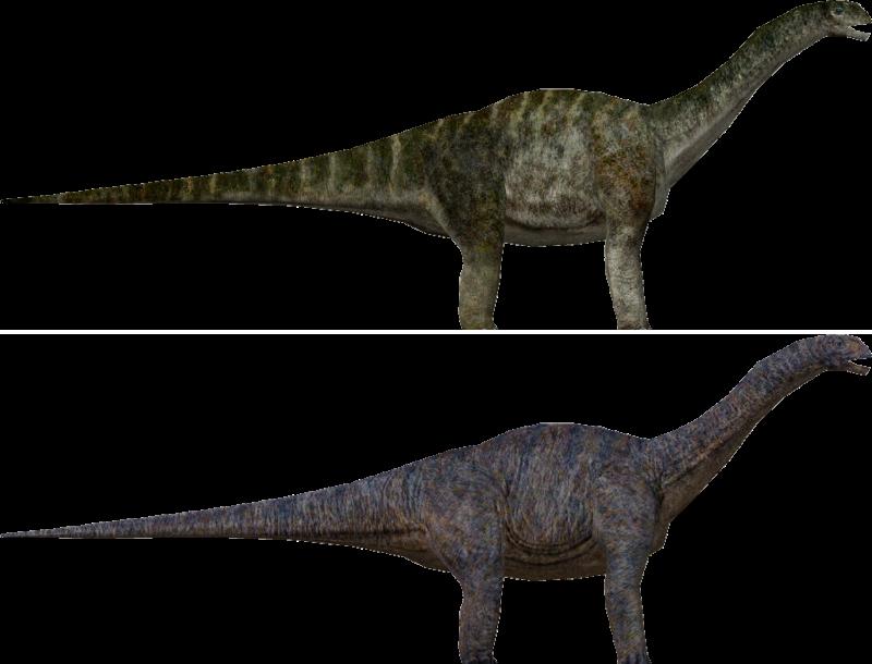 Apatosaurus | Default skin, Jurassic World skin
