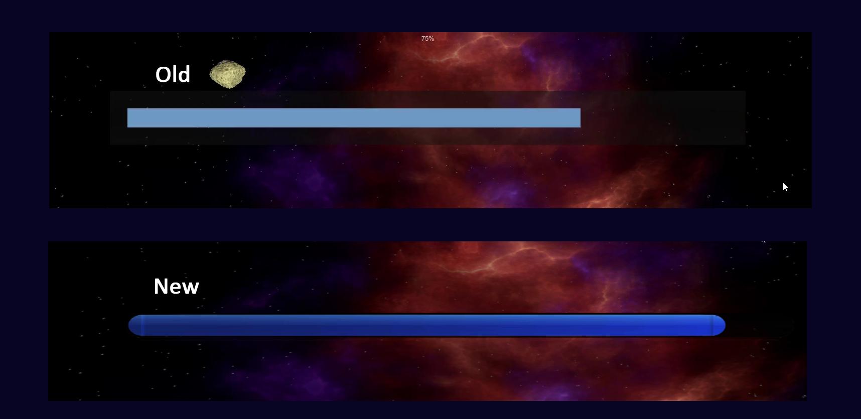 progressbars