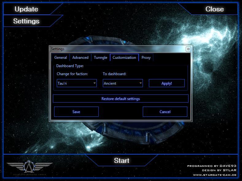 LauncherCustomization