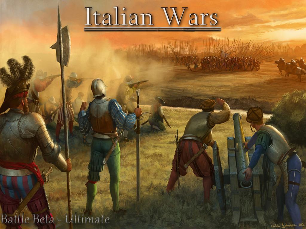 Title Screen Italian Wars Battle Beta