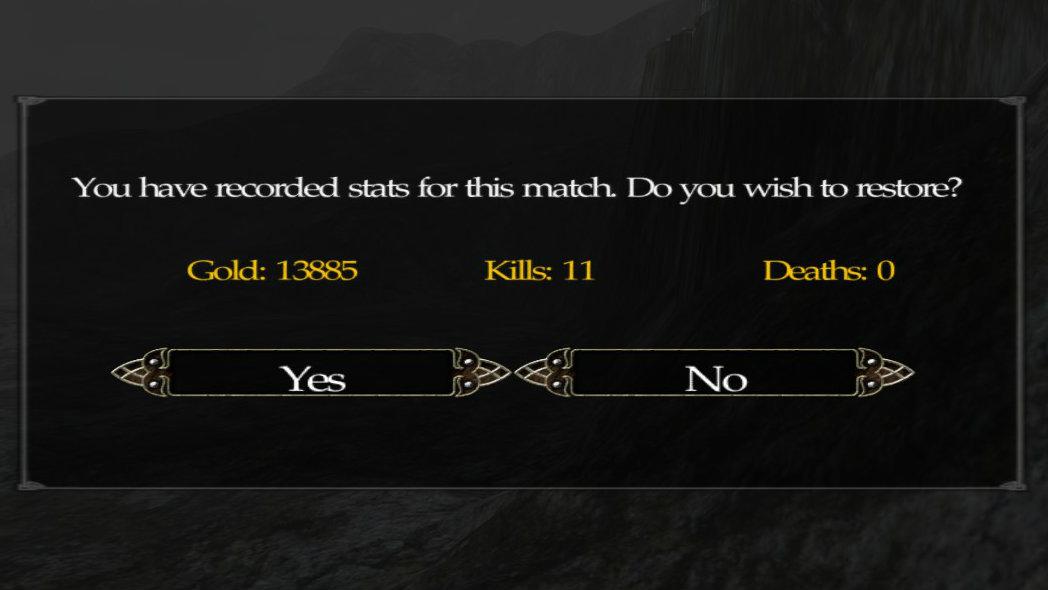 Persistent Stats