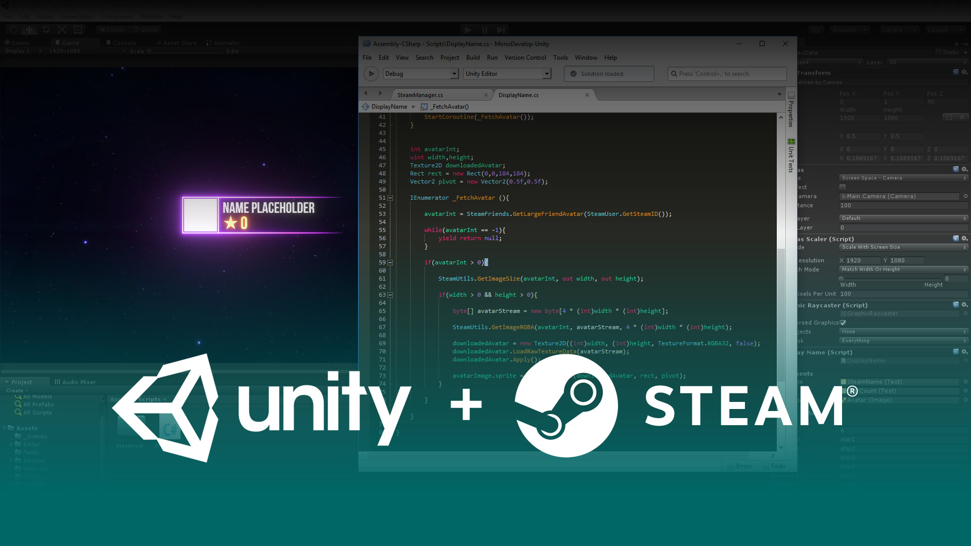 Unity - Getting Started with Steam tutorial - Mod DB