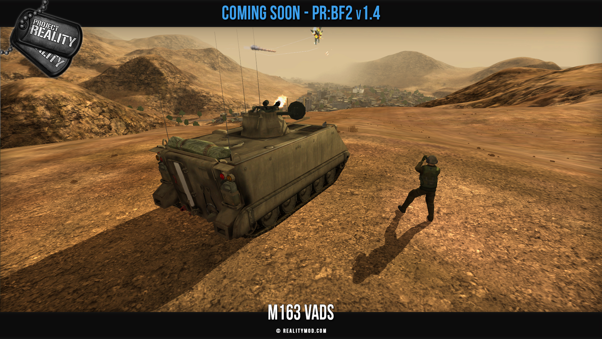 Project Reality: BF2 v1.4 Announced! news