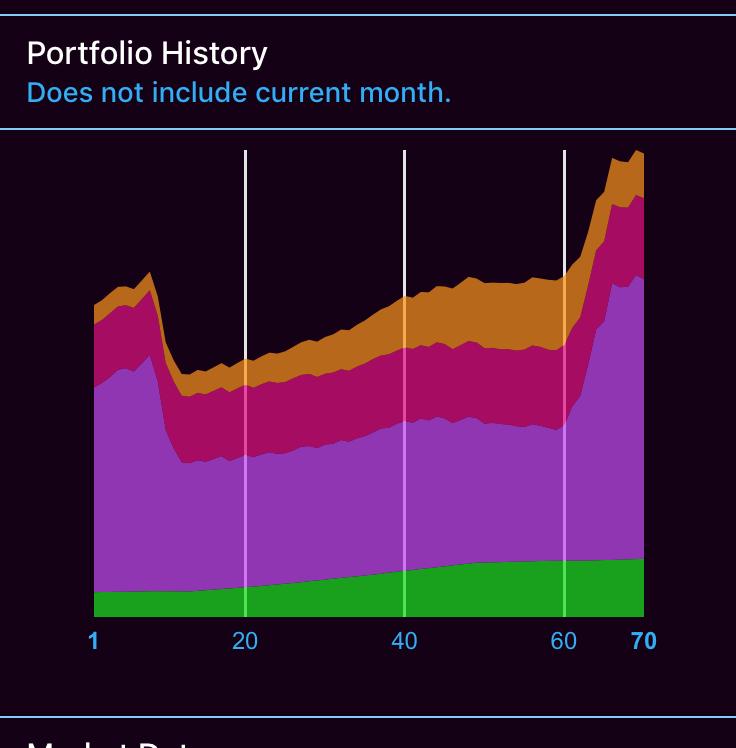 portfolio history