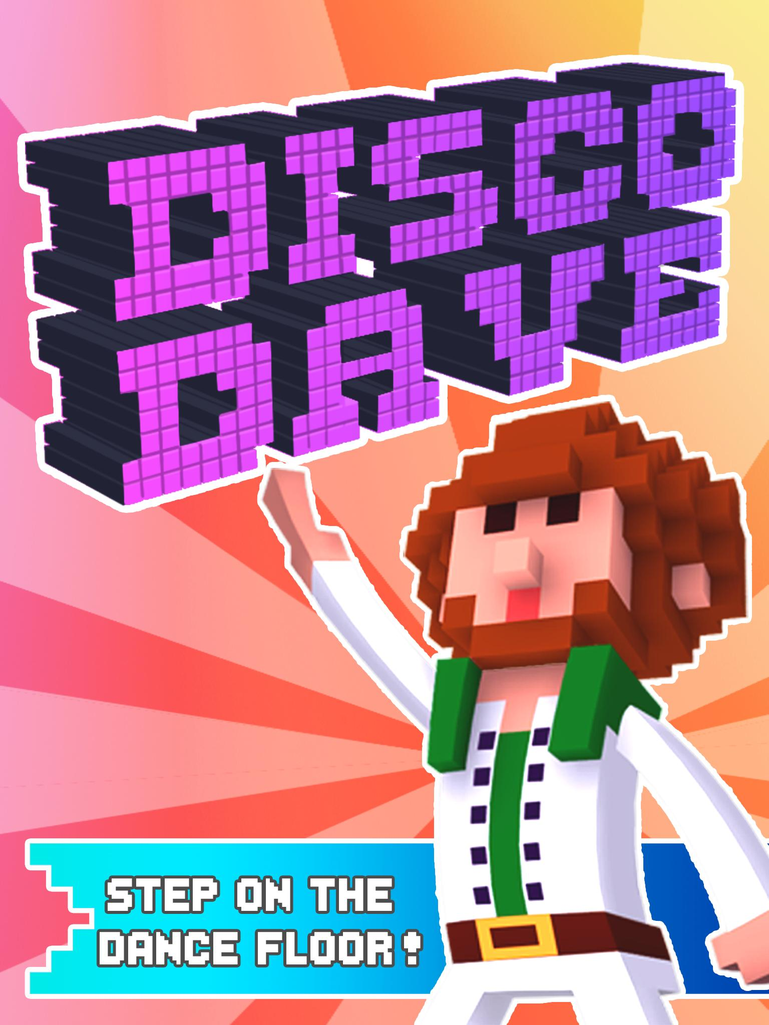 Disco Dave screenshot on the appstore