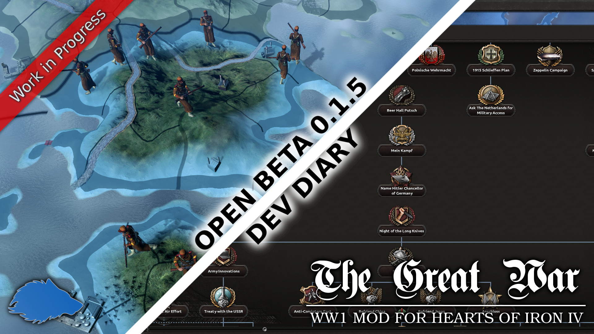 Open Beta 0 1 5 Dev Diary news - Hearts of Iron IV: The