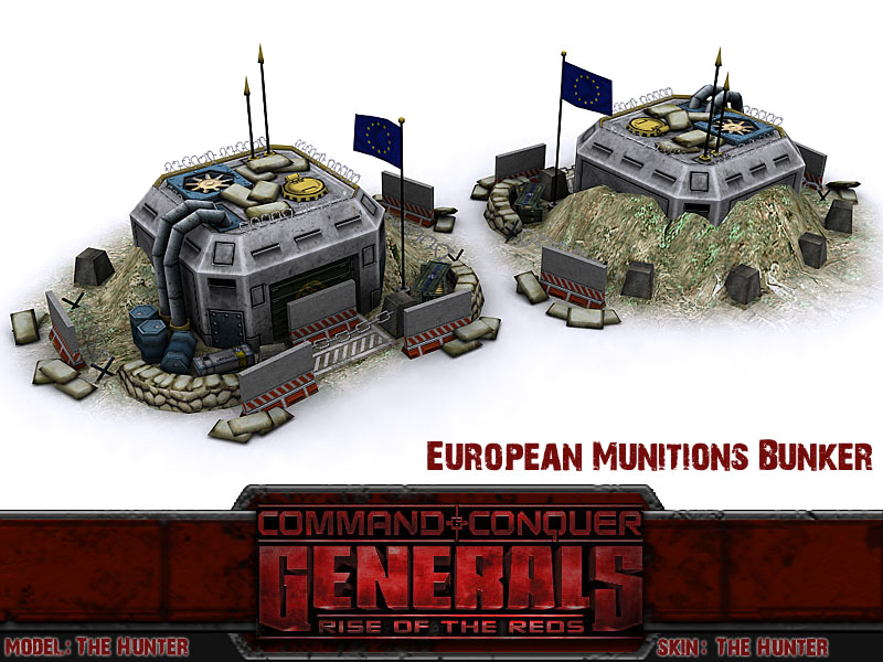 Rise of the Reds мод для Generals
