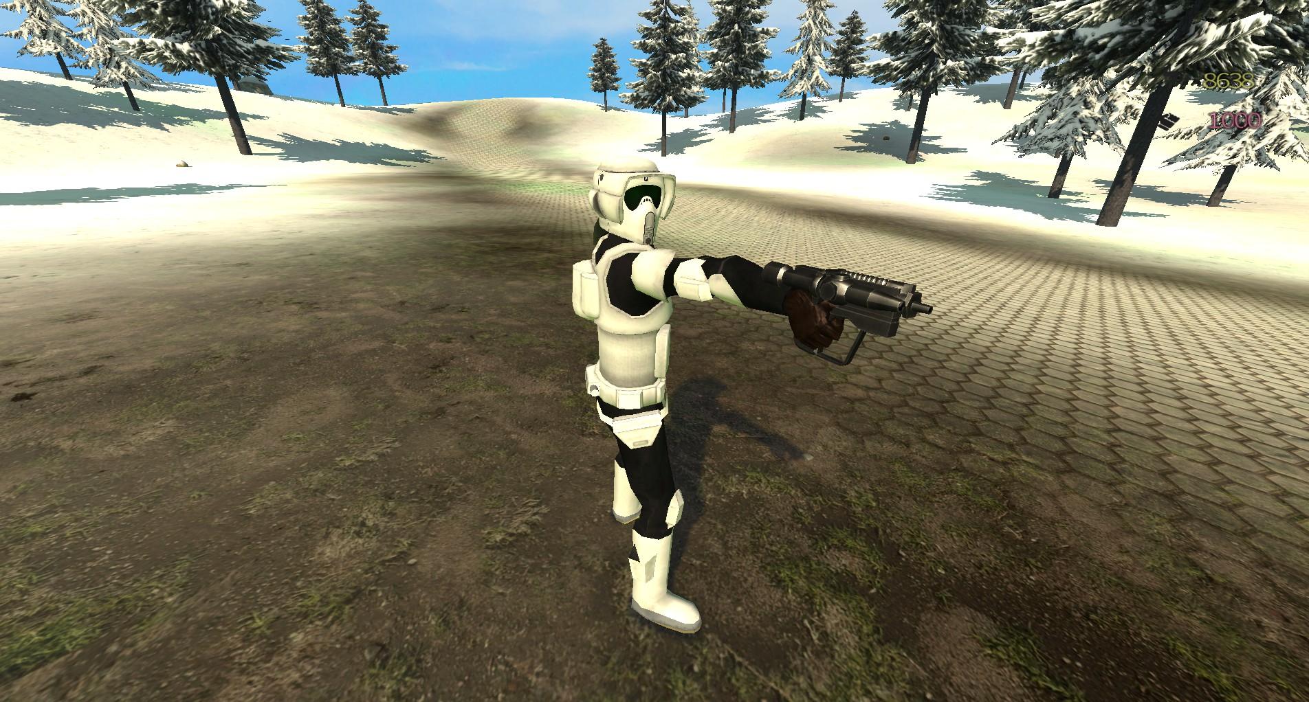 Scout Trooper + new scout pistol